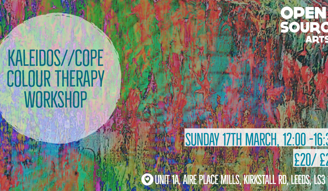 Kaleidos//Cope Colour Therapy Workshop