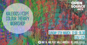 Kaleidos//Cope Colour Therapy Workshop @ Open Source Arts