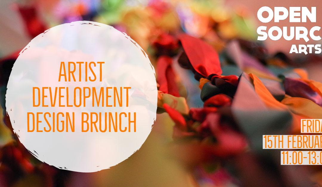 Artist Development Scheme: Design Brunch