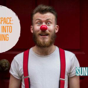 deeper into clown open source arts space leeds workshop play class clowning