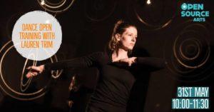 Pro Class: Dance Open Training with Lauren Trim @ Open Source Arts