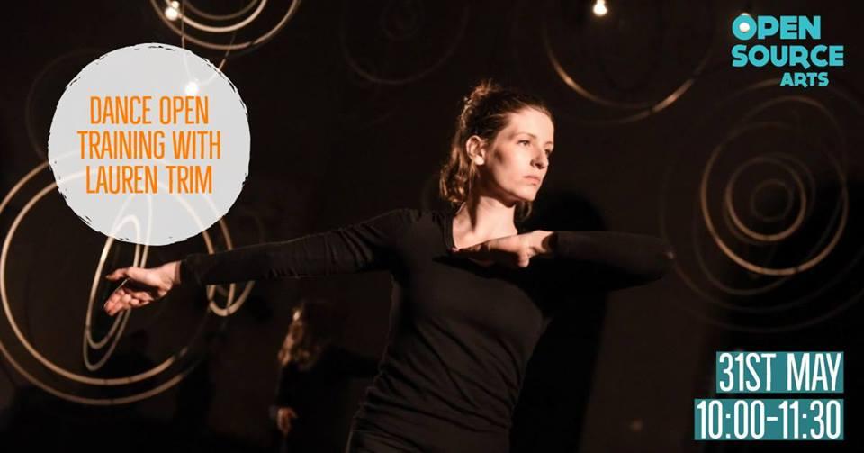 Pro Class: Dance Open Training with Lauren Trim