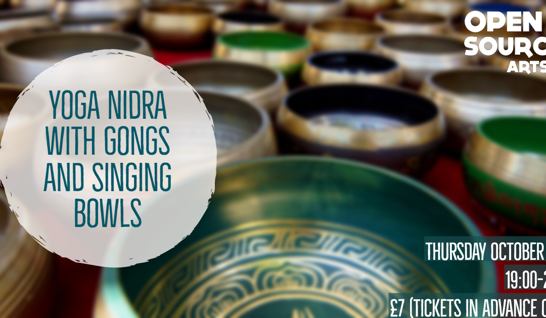 Yoga Nidra for Every Body with Gongs and Singing Bowls