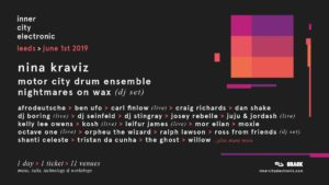 inner city electronic 2019 @ Open Source Arts