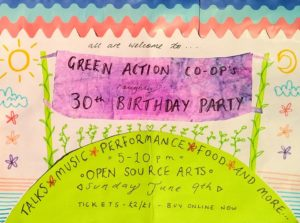 Green Action's *almost* 30th Birthday Party