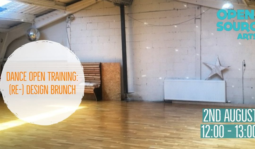 Dance Open Training: (Re-) Design Brunch