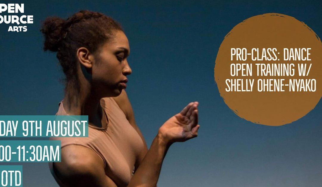 Pro-Class: Dance Open Training w/ Shelly Ohene-Nyako
