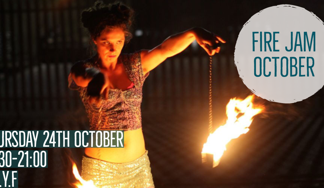 fire jam circus yorkshire west leeds creative workshop artists juggle