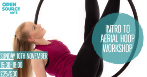Intro to Aerial Hoop Workshop @ Open Source Arts