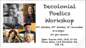 Decolonial Poetics Workshop