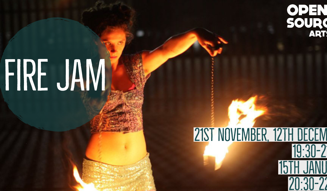 fire jam circus yorkshire west leeds creative workshop artists juggle