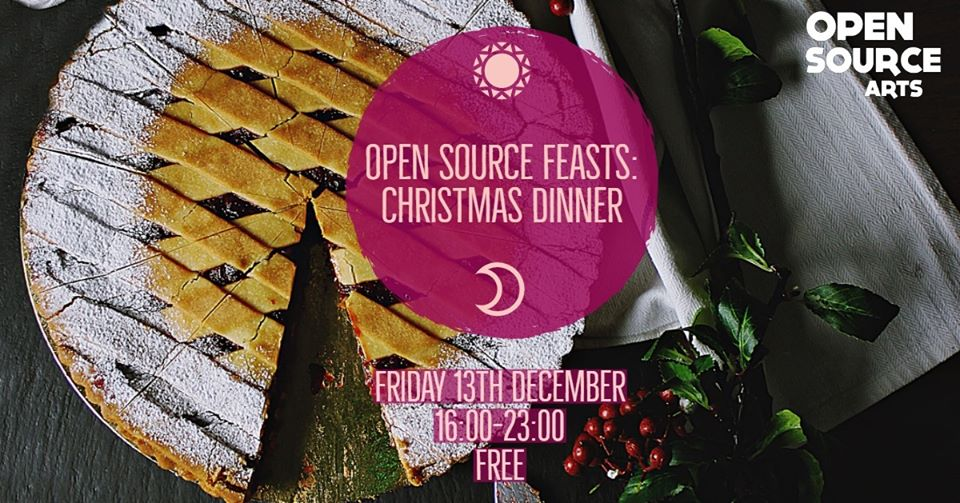 christmas dinner feasts open source welcome food gather leeds events