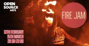 Fire Jam Feb 2020 @ Open Source Arts