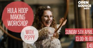 To be rearranged: Hula Hoop Making Workshop @ Open Source Arts